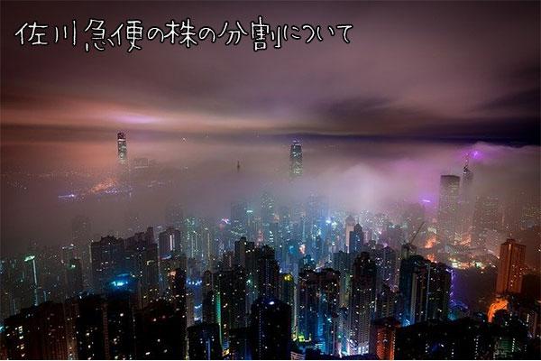 【超初心者向け】SGホールディングス(佐川急便)の株の購入の仕方と株主優待について
